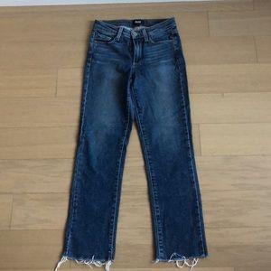 Paige Jacqueline Staright leg Jeans 25